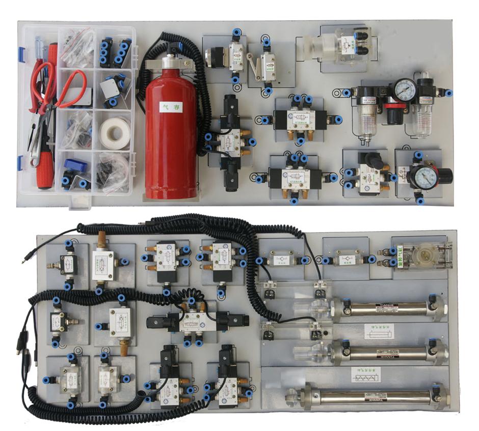 气动面元件配置板