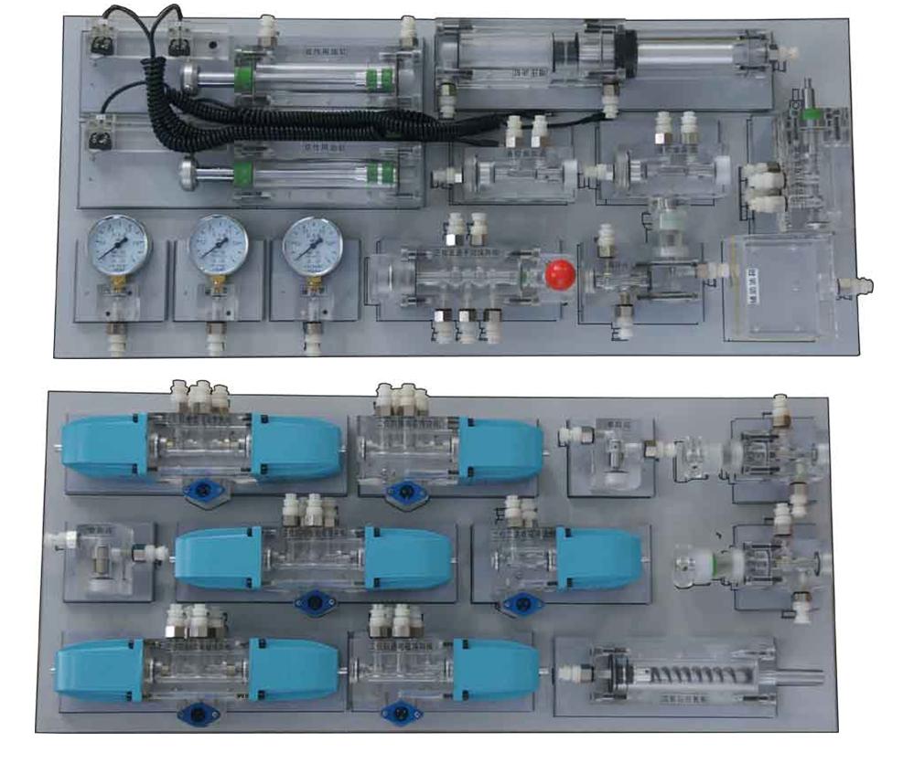 液压面元件配置